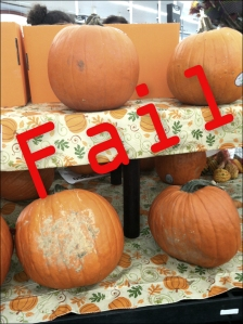 pumpkin fail